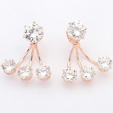 Dames Oorknopjes Druppel oorbellen Ring oorbellen Synthetische Diamant Gepersonaliseerde Religieuze sieraden Luxe Uniek ontwerp Logostijl
