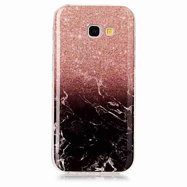 غطاء من أجل Samsung Galaxy A5(2017) A3(2017) IMD غطاء خلفي حجر كريم ناعم TPU إلى A3 (2017) A5 (2017)