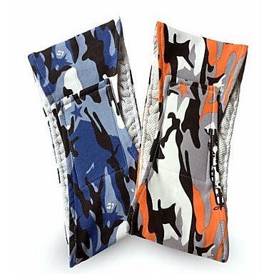 Câine Pantaloni Îmbrăcăminte Câini Casul/Zilnic Geometic Portocaliu Albastru