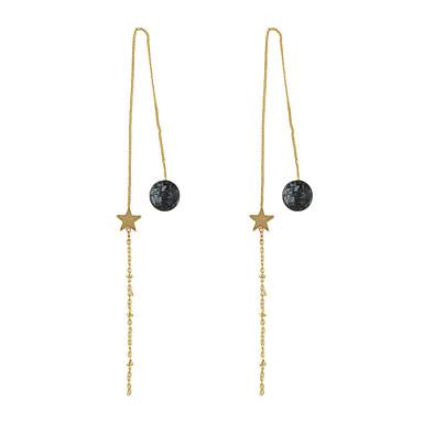 للمرأة أقراط الزر تصميم بسيط سبيكة مجوهرات من أجل عيد ميلاد