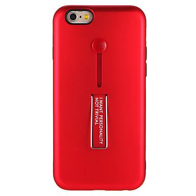 Caz pentru Apple iphone 7 7plus cu stand solid de culoare hard hard PC spate caz pentru iphone 6s plus e 6 plus 6s 6