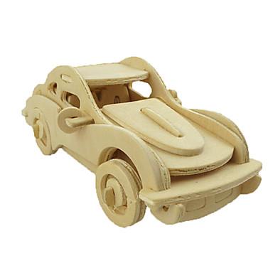 قطع تركيب3D سيارة لهو خشب كلاسيكي
