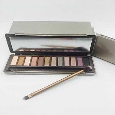 12 Oogschaduwpalet Mat / Glinstering Oogschaduw palet Others Normaal Dagelijkse make-up / Smokey make-up