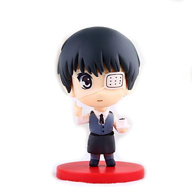 Anime Action-Figuren Inspiriert von Tokyo Ghoul Ken Kaneki 8 CM Modell Spielzeug Puppe Spielzeug