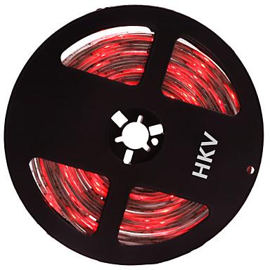 36W Flexible LED-Leuchtstreifen lm DC12 V 5 m 300 Leds Rot