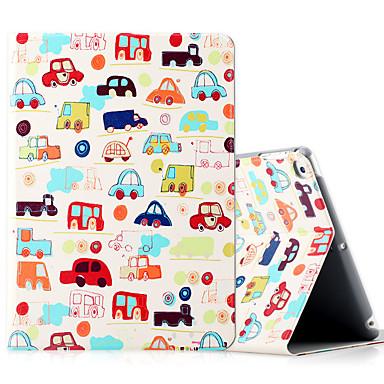 Pentru ipad Apple (2017) iPad de aer 2 ipad caz de aer de acoperire cu șocuri rezistente cu stand flip model plin de caroserie caz desen