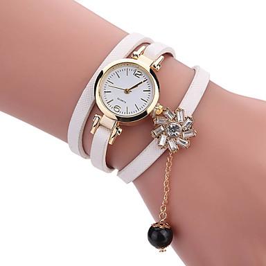 Pentru femei Unic Creative ceas Ceas de Mână Ceas Brățară Ceas La Modă Ceas Casual Quartz PU Bandă Charm Lux Creative Casual Elegant Cool