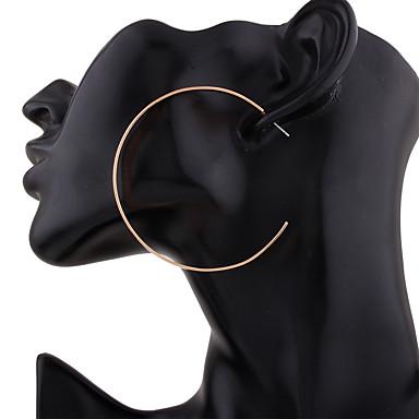 Dames - Cirkelvormig ontwerp Goud Zilver Cirkelvorm oorbellen Voor Bruiloft Feest Verjaardag Toimisto & ura