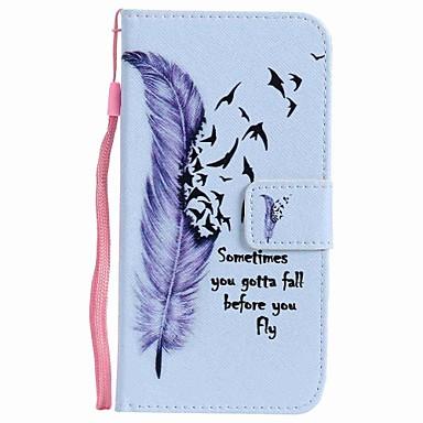 Für huawei p10 plus p10 lite Fall Abdeckung Kartenhalter Brieftasche mit Standflake Muster Ganzkörper Fall Federn harte PU Leder p10 p8