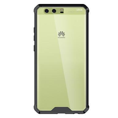 Hülle Für Huawei Stoßresistent Transparent Rückseite Volltonfarbe Rüstung Hart Acryl für P10 Plus P10 P8 Lite (2017) Nova Huawei