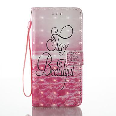 Maska Pentru Apple iPhone 7 Plus iPhone 7 Titluar Card Portofel Cu Stand Întoarce Magnetic Model Carcasă Telefon Decor Greu PU piele