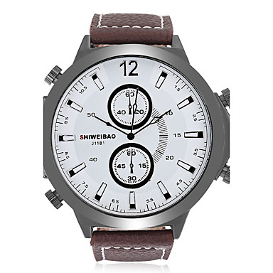 Heren Volwassenen Unieke creatieve horloge Polshorloge Modieus horloge Sporthorloge Vrijetijdshorloge Chinees Kwarts Kalender