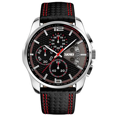 Bărbați Ceas Elegant  Ceas La Modă Ceas de Mână Unic Creative ceas Ceas Sport Chineză Quartz Calendar Cronograf Monitor Ritm Cardiac