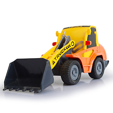 Vehicul Die-cast Jucării pentru mașini Jucarii Camion Vehicul de Construcție Excavator Jucarii Camion Stivuitor Excavator Plastice Aliaj