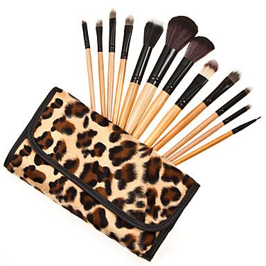 1SET فرشاة أخرى الاصطناعية الشعر آخرون دون رائحة Other الخشب الزان وجه