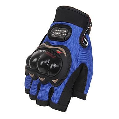 Activiteit/Sport Handschoenen Unisex Fietshandschoenen Wielrenhandschoenen Beschermend Vingerloos Leder Fietshandschoenen