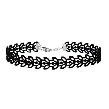 Damen Blattform Einzigartiges Design Halsketten Gestrickt Halsketten . Veranstaltung / Fest Alltagskleidung Outdoor Kleidung
