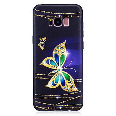 hoesje Voor Samsung Galaxy S8 Plus S8 Patroon Achterkant Vlinder Zacht TPU voor S8 Plus S8 S7 edge S7