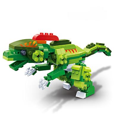 Bouwblokken Modelbouwsets Speeltjes Dinosaurus DHZ ABS Kinderen Stuks