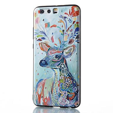 Hülle Für Huawei P9 Huawei P9 Lite Huawei P8 Huawei Huawei P9 plus Huawei P8 Lite Huawei Kamerad 8 Muster Rückseite Tier Weich TPU für