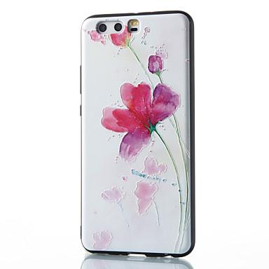 من أجل أغط / كفرات نموذج غطاء خلفي غطاء زهور ناعم TPU إلى Huawei Huawei P10 Plus Huawei P10 Lite Huawei P10 هواوي P9 Huawei P9 Lite