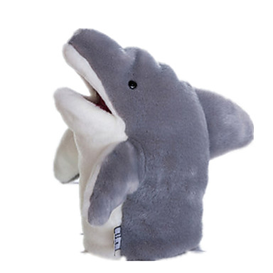 Poppen Handpop Knuffels Speeltjes Shark Schattig Pluche tactel Kinderen Stuks