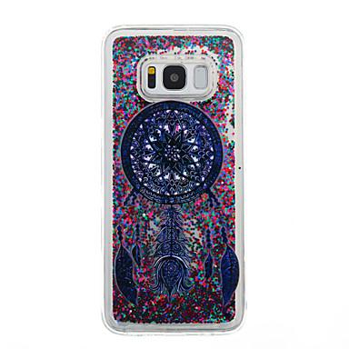 غطاء من أجل Samsung Galaxy S8 Plus S8 سائل متدفق شفاف نموذج غطاء خلفي شفاف ملاحق الأحلام بريق لماع ناعم TPU إلى S8 S8 Plus S7 edge S7 S6