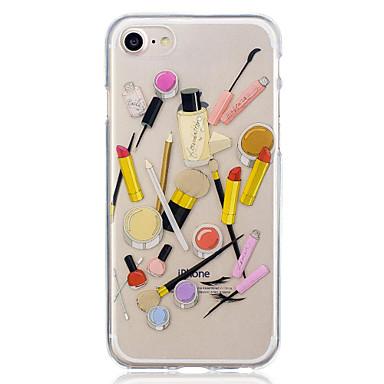 Voor apple iphone 7 plus 7 cosmetica patroon behuizing back cover case zachte tpu iphone 6s plus 6 plus 6s 6 5 5s se