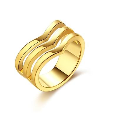 Dames Ring Zirkonia Gepersonaliseerde Cirkelvormig ontwerp Meetkundig Uniek ontwerp Vintage Bohémien Standaard Natuur Cirkel Vriendschap
