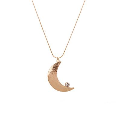 Bărbați Pentru femei Coliere cu Pandativ  -  Γεωμετρικά Stil Logo Natură Geometric Shape Auriu Coliere Pentru Zi de Naștere Petrecere /