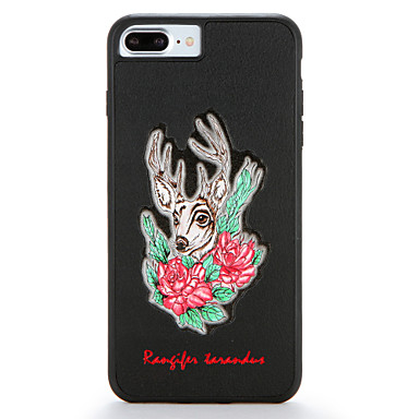hoesje Voor Apple iPhone 7 Plus iPhone 7 Patroon Achterkant Bloem dier Hard PC voor iPhone 7 Plus iPhone 7 iPhone 6s Plus iPhone 6s