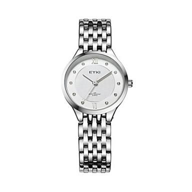 Dames Modieus horloge Kwarts Waterbestendig Legering Band Zilver Goud