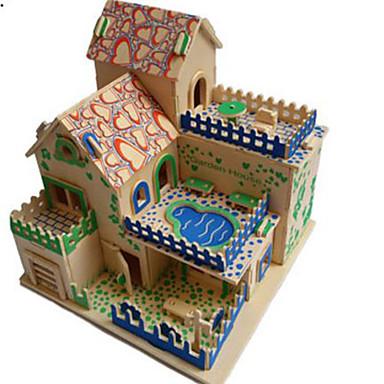 Puzzle 3D Puzzle Jucarii Clădire celebru Arhitectură Other 3D Reparații Lemn Lemn natural Ne Specificat Bucăți