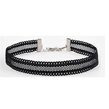 Damen Einzelkette Stern Grundlegend Halsketten Schmuck Spitze Halsketten . Weihnachts Geschenke Hochzeit Party Besondere Anlässe