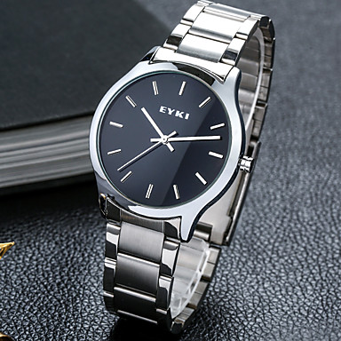Heren Modieus horloge mechanische horloges Kwarts Legering Band Vrijetijdsschoenen Wit
