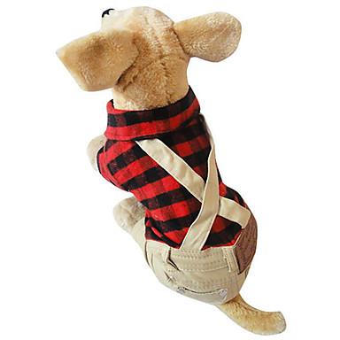 Câine Salopete Hamuri Îmbrăcăminte Câini Englezesc Bumbac Costume Pentru animale de companie Bărbați Pentru femei Casul/Zilnic