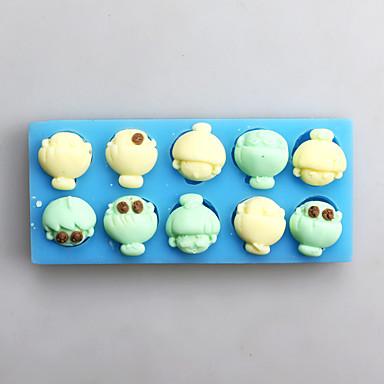 Cake Moulds voor Candy Siliconen Thanksgiving Nieuwjaar Verjaardag