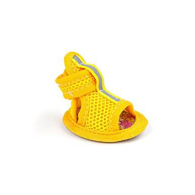 Hond Schoenen & Laarzen Casual/Dagelijks Sport Effen Geel Rood Blauw Roze Voor huisdieren