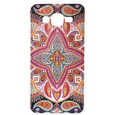 Hülle Für Samsung Galaxy J7 Prime J5 Prime IMD Muster Rückseitenabdeckung Tarnfarben Glänzender Schein Blume Weich TPU für J7 Prime J5