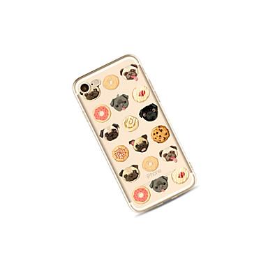 X 8 iPhone Fantasia Custodia iPhone iPhone iPhone Per 06050049 TPU Plus Per cagnolino Con Alimenti retro Transparente per iPhone 8 X Mattonella 8 Morbido Plus Apple disegno 8qqXwR