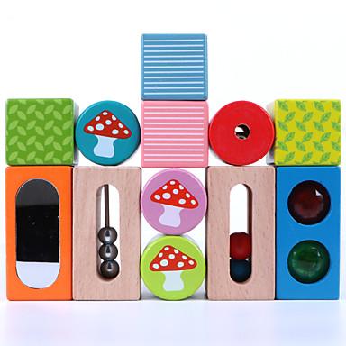 أحجار البناء ألعاب تربوية ألعاب مربع خشبي للأطفال قطع