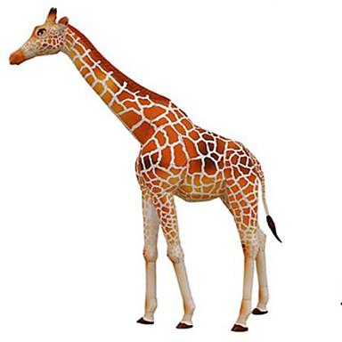 قطع تركيب3D نموذج الورق مجموعات البناء مربع أيل الحيوانات اصنع بنفسك ورق صلب كلاسيكي صبيان للجنسين هدية