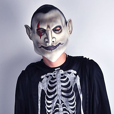 Horror diavoli latex masca infricosator Earl de iad fata vampir sângetor Halloween mascaradă rimelul teroare cosplay partid recuzită