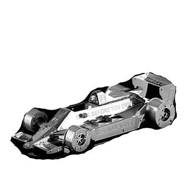 Speelgoedauto's 3D-puzzels Legpuzzel Metalen puzzels Trein Speeltjes Trein Automatisch 3D DHZ Roestvast staal Kromi Metaal Niet