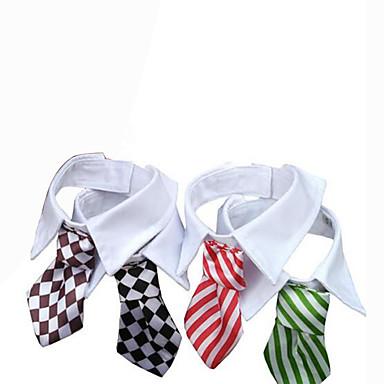 كلب ربطة عنق ملابس الكلاب الزفاف بريطاني أسود أحمر أخضر قوس قزح