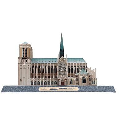 3D-puzzels Bouwplaat Speeltjes Vierkant Beroemd gebouw Architectuur DHZ Hard Kaart Paper Niet gespecificeerd Stuks
