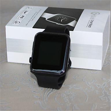 Heren Smart horloge Digitaal Rubber Band Zwart Wit