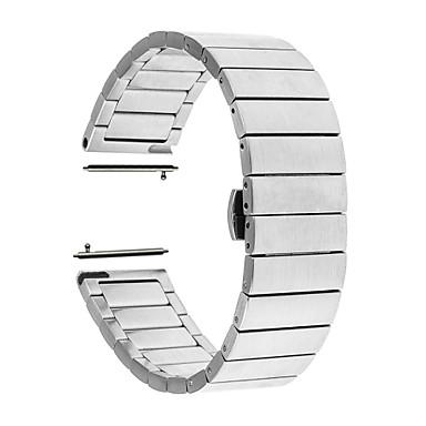 billige Klokkeremmer til Huawei-Klokkerem til Huawei Watch 2 Huawei Sommerfugle Spenne Rustfritt stål Håndleddsrem