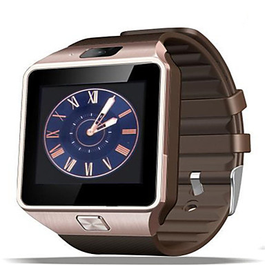 Herrn Smart Watch digital Caucho Band Schwarz Weiß Gold