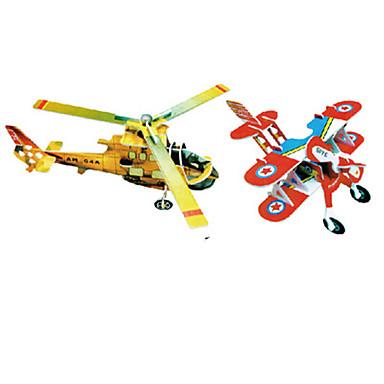 3D-puzzels Legpuzzel Modelbouwsets Vliegtuig Beroemd gebouw Architectuur 3D DHZ Hard Kaart Paper Klassiek Cartoon Kinderen Unisex Geschenk